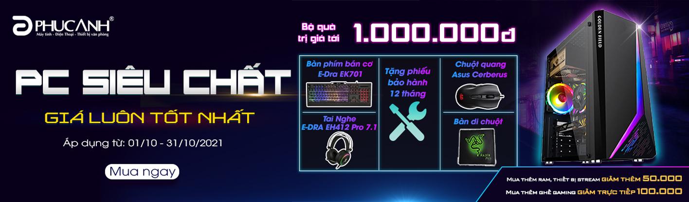 PC SIÊU CHẤT - CHIẾN TẤT MỌI GAME