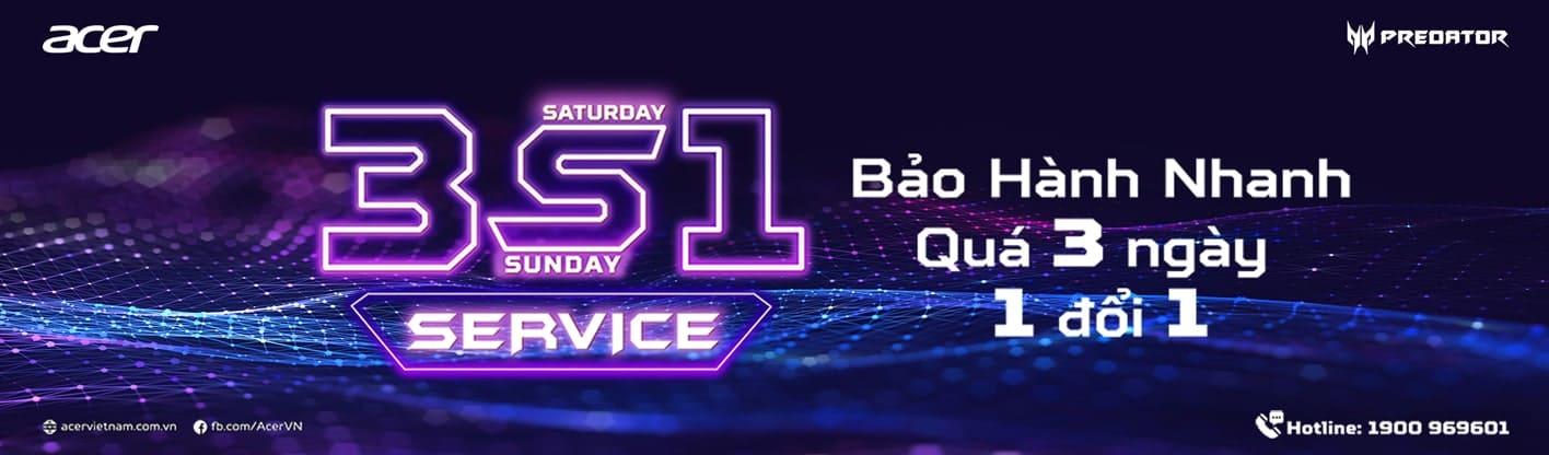 CHẾ ĐỘ BẢO HÀNH VIP - 3S1