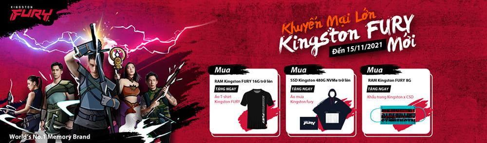 Khuyến mại mới Kingston FURY