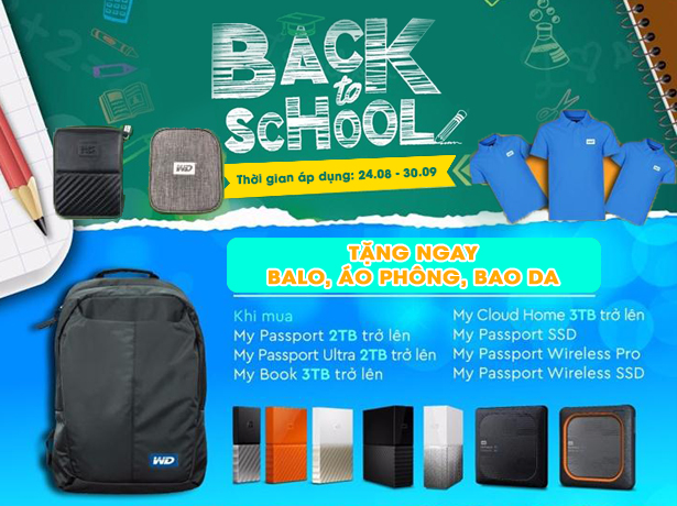 WD BACK TO SCHOOL