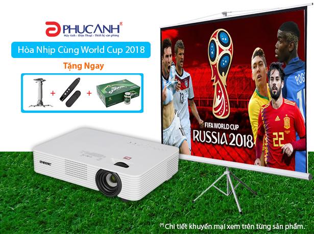 WORLD CUP CỰC ĐÃ - MUA MÁY CHIẾU NHẬN NGAY 1 THÙNG BIA