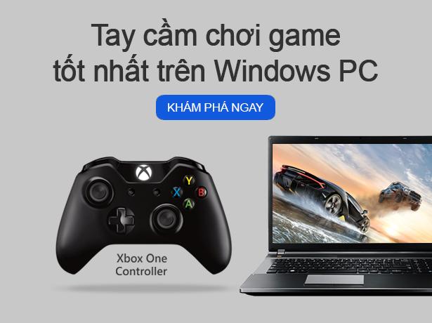 TAY CẦM CHƠI GAME TỐT NHẤT TRÊN WINDOWS PC