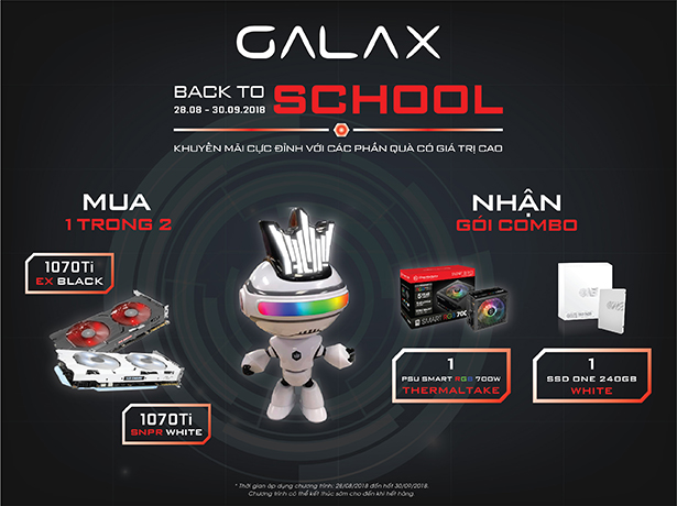 BACK TO SCHOOL CÙNG GALAX