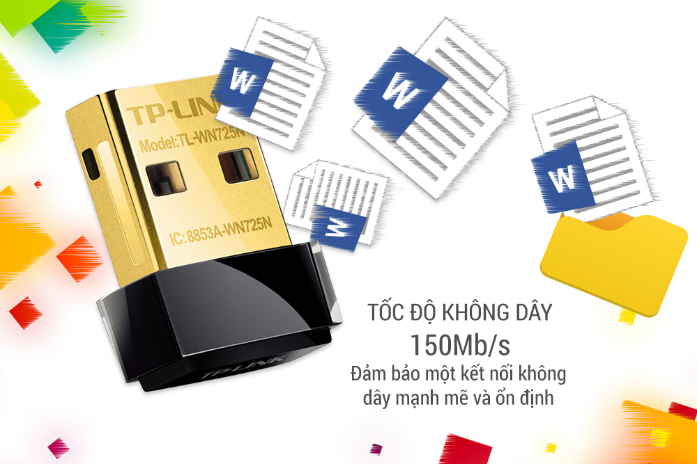 Card mạng không dây TP-Link TL-WN725N