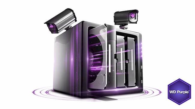 Ổ cứng HDD Western Purple 8Tb SATA3 7200rpm 256Mb