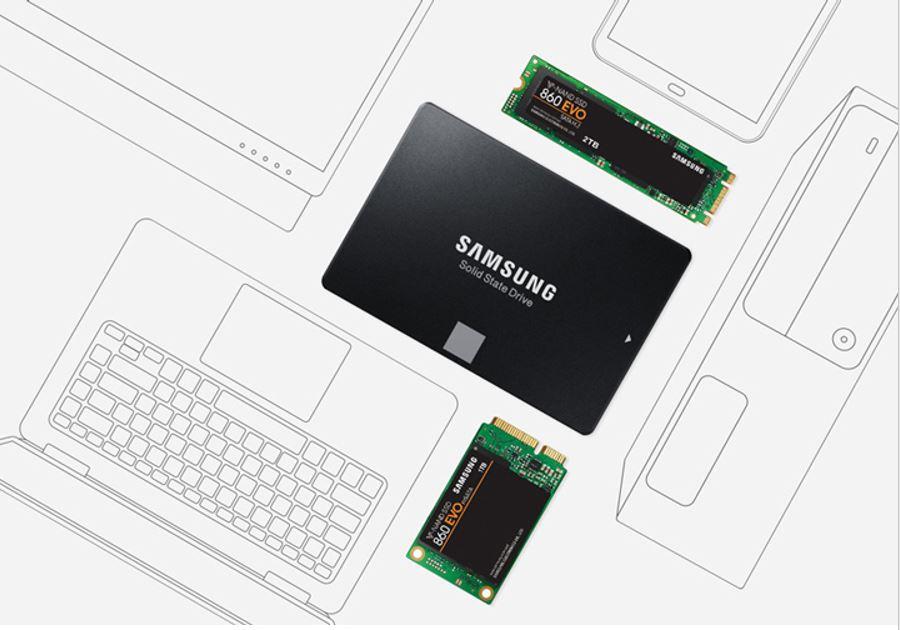 Ổ SSD Samsung 860 Evo 1Tb SATA3-1