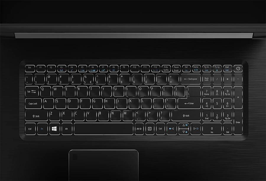 Laptop Acer Aspire 7 A715-71G-52WP NX.GP8SV.005 (Black)- Gaming/Giải trí/CPU Mới nhất Kabylake