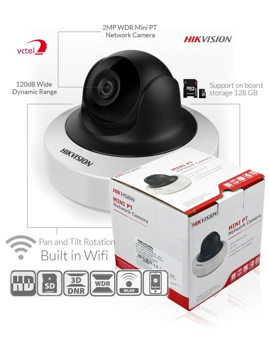 Camera quan sát IP wifi Hikvison DS-2CD2F22FWD-IWS hinh 2