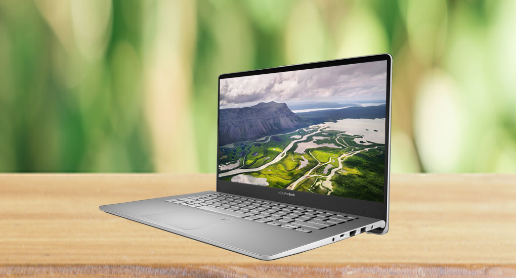 Laptop Asus S430UA-EB002T (Grey)- Ultra thin, FingerPrint