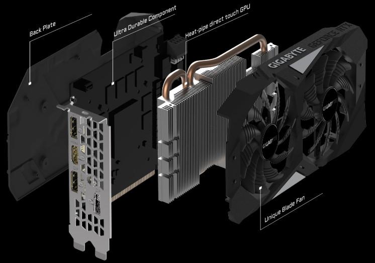 VGA Gigabyte RTX 2060 OC 6G hình 2