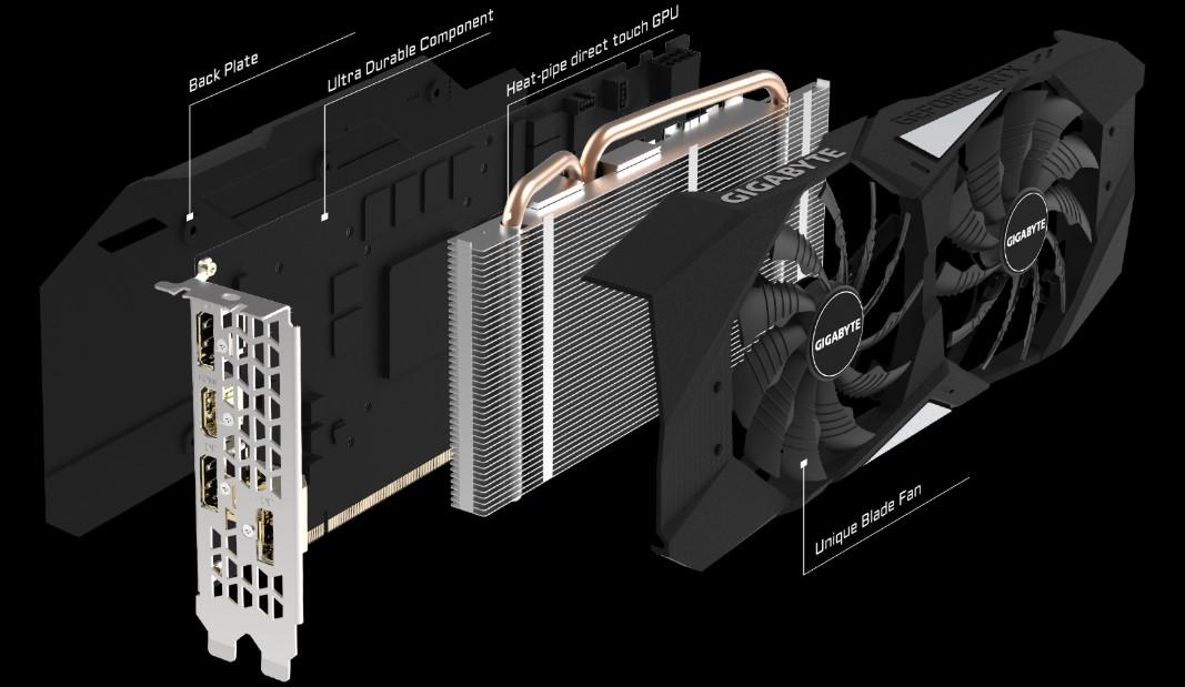 VGA Gigabyte RTX 2060 WINDFORCE OC 6G hinh 2
