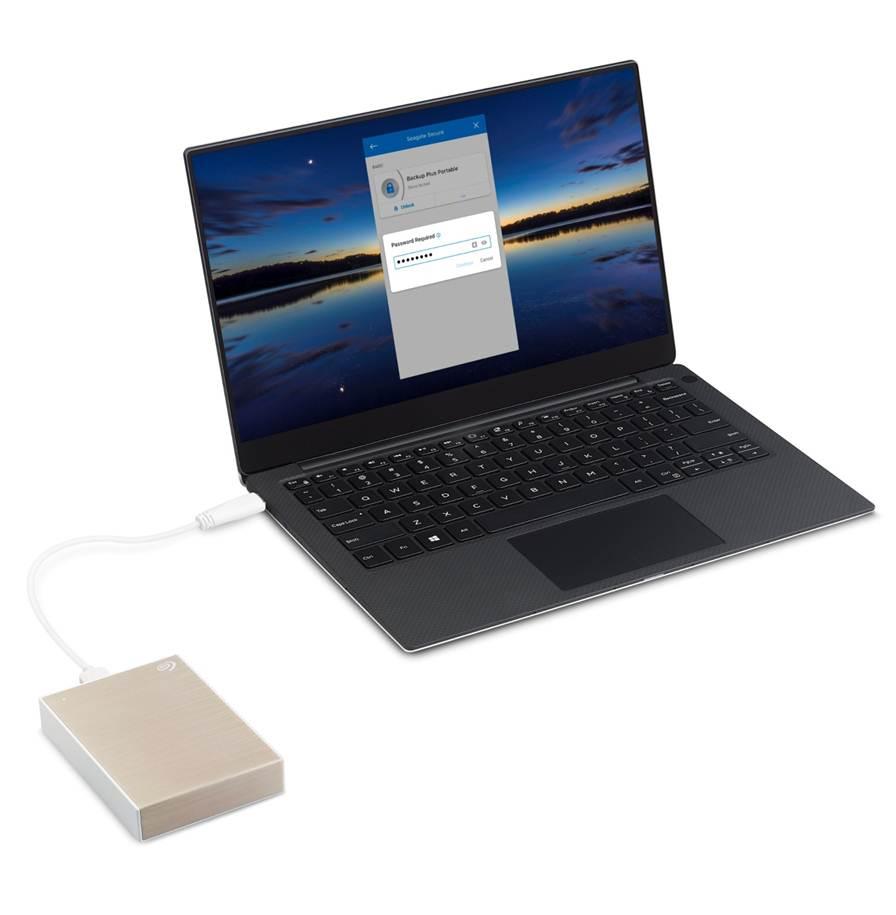 Ổ cứng di động Seagate Backup Plus Portable 5Tb 2.5Inch USB3.0 - Màu đen (STHP5000400)