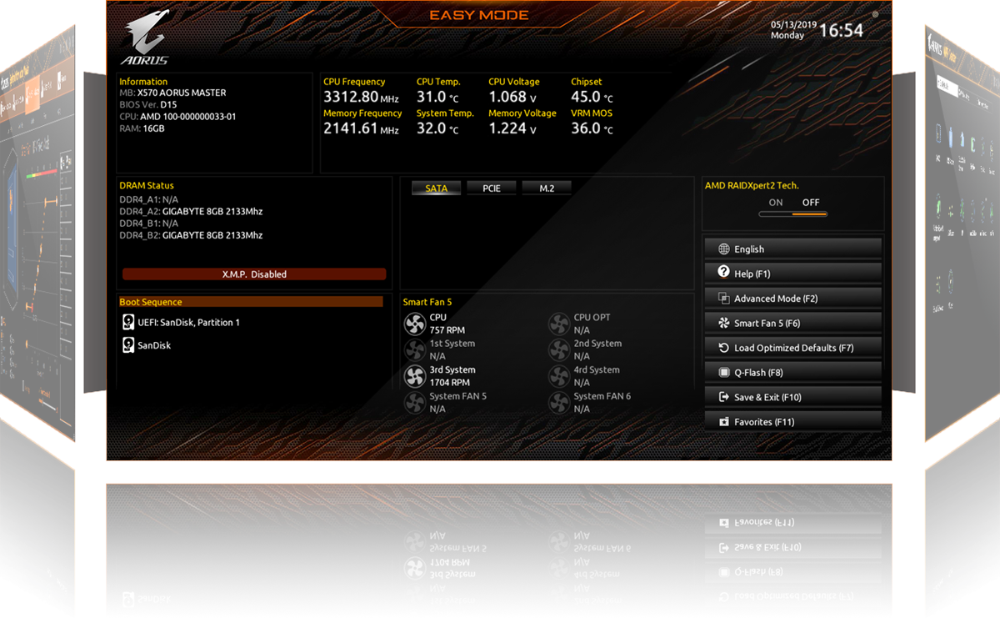 Main Gigabyte X570 AORUS ULTRA h4