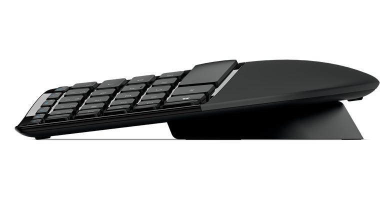 Bộ bàn phím chuột không dây Wireless Sculpt Ergonomic Sculpt Ergonomic Desktop - Thiết kế tiện dụng tiên tiến Sculpt Ergonomic Desktop được chế tạo dựa trên các nguyên tắc tiện dụng tiên tiến, với bố cục bàn phím chia đôi giữ cổ tay và cẳng tay ở vị trí thư giãn cùng một vùng tựa tay êm ái nâng đỡ cổ tay. Hình dáng bàn phím uốn cong hạn chế và điều chỉnh các tư thế gập cổ tay có thể gây ra đau đớn và giới hạn khả năng vận động.   Thực sự thoải mái với hiệu quả gõ phím cao Sculpt Ergonomic Desktop được thiết kế để nâng cao hiệu quả gõ máy tính và chú trọng đến sự thuận tiện đối với người dùng. Bằng cách mang lại trải nghiệm sử dụng máy tính thư giãn, thoải mái, bàn phím này giúp bạn làm việc không căng thẳng, bất tiện như các bàn phím và con chuột khác mà bạn có thể đã sử dụng trước kia.   Tất cả đều có góc nghiêng đều có lý của nó Bàn phím có độ cong tự nhiên phù hợp với đường cong của các ngón tay, giúp bạn gõ bàn phím một cách thoải mái hơn. Thiết kế chân xoay tạo độ nghiêng đặt bàn phím ở góc chính xác để mang lại cho cổ tay của bạn có một vị trí phù hợp và thoải mái. Ngoài ra, h́ình dáng của chuột được thiết kế để cổ tay cảm thấy dễ chịu nhất. Thêm vào đó, nút Windows cung cấp tính năng truy cập một chạm vào màn h́ình Start của Windows 8.   Vùng tựa tay êm ái  Vùng tựa tay êm nhẹ hỗ trợ và đem lại tư thế cổ tay thoải mái.   Thiết kế bàn phím chia đôi  Thiết kế bàn phím chia đôi giúp cổ tay và cẳng tay nằm ở vị trí tự nhiên, thư giãn.   Độ cong theo các ngón tay  Bố cục phím mô phỏng theo hình dạng uốn cong của các đầu ngón tay.   Thiết kế bàn phím uốn cong  Thiết kế bàn phím uốn cong đặt cổ tay ở góc tự nhiên, thư giãn. Cong ở đây là cong trên mặt phím nhé   Bàn phím số riêng  Bàn phím số riêng giúp sắp đặt không gian làm việc linh hoạt hơn.   Mã hoá theo Advanced Encryption Standard (AES) 128 Bit  Bàn phím này nổi bật với công nghệ Advanced Encryption Standard (AES*), được thiết kế để giúp bảo vệ thông tin của bạn bằng cách mã hóa gõ phím.   Cổ tay thoải mái  H