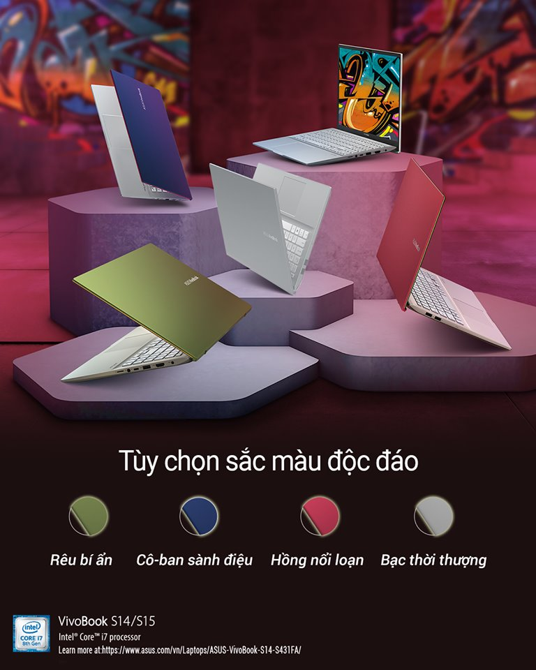 Laptop Asus S531FA-BQ104T (Silver)- Ultra Slim