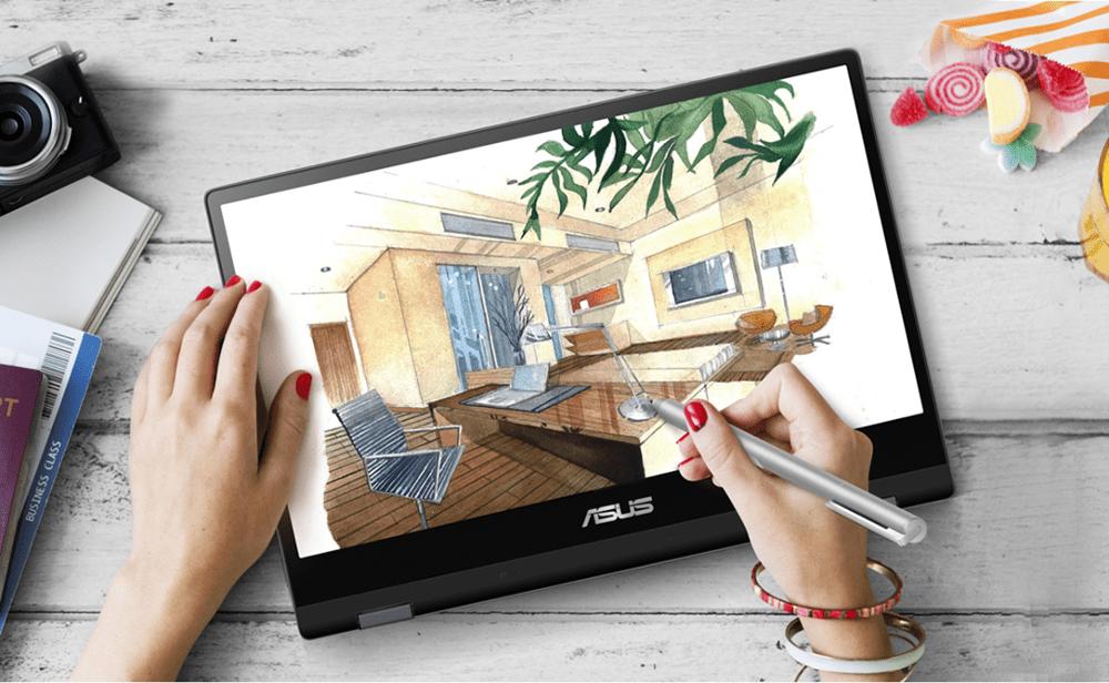 Laptop Asus Vivobook Flip TP412FA-EC123T