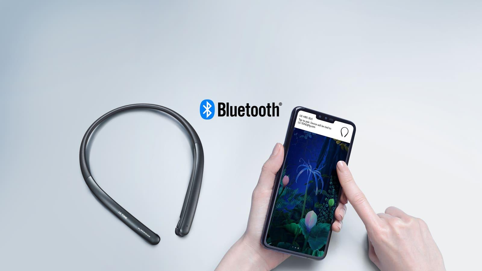 Tai nghe không dây nhét tai LG HBS-SL6S (Hàng chính hãng)