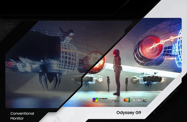 Màn hình Samsung Odyssey G9 LC49G95TSSEXXV