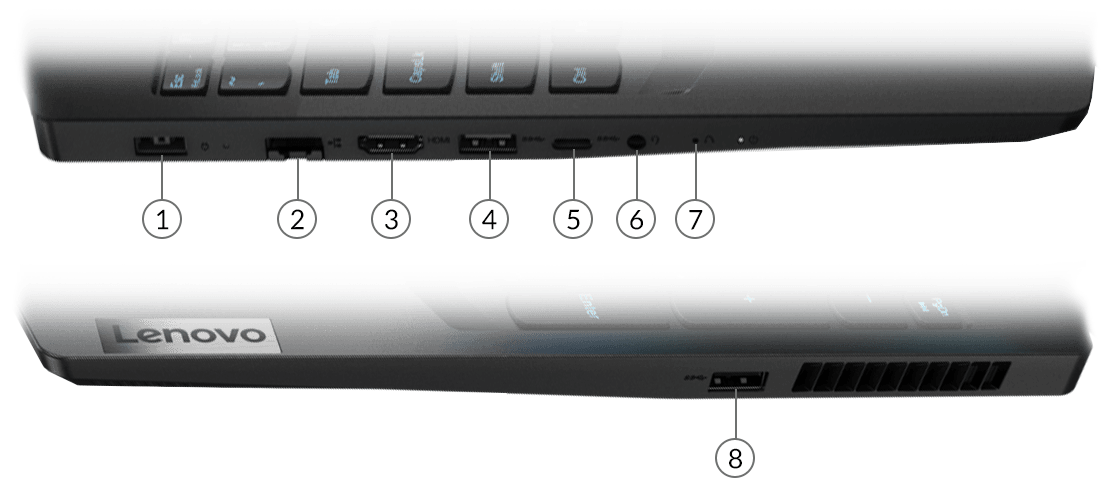 Laptop Lenovo Ideapad Gaming 3 15ARH05 82EY005UVN