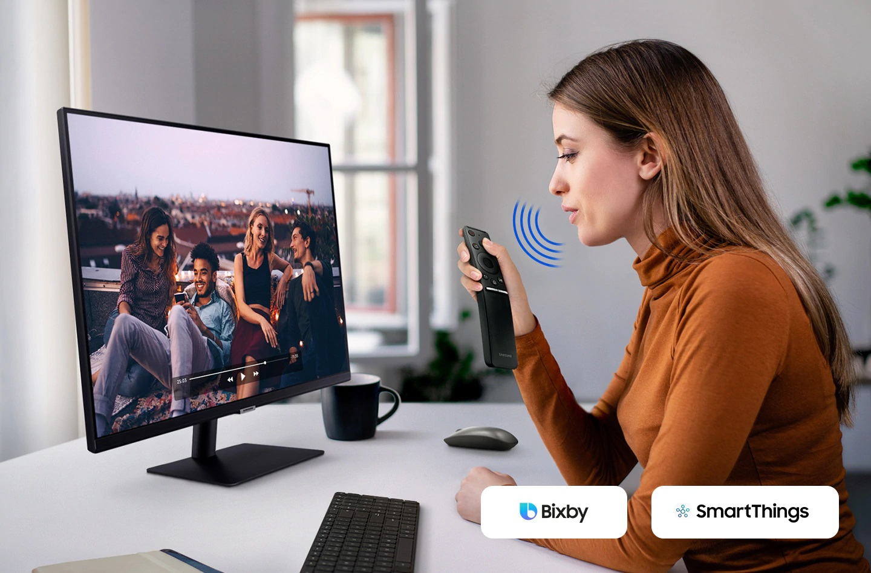 Màn hình thông minh Samsung LS32AM700UEXXV 31.5Inch 4K (Smart monitor)