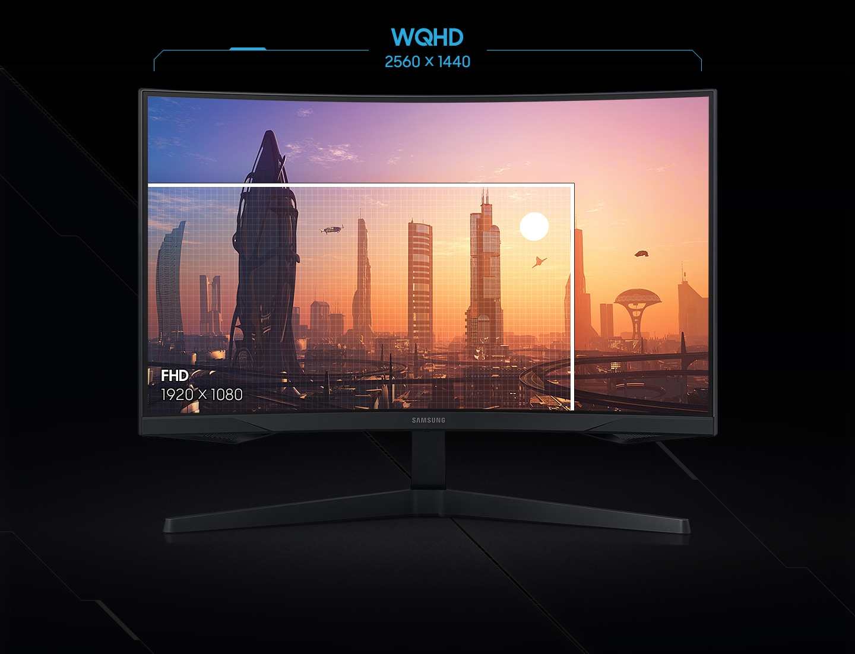 Màn hình Samsung Odyssey G5 LC27G55TQWEXXV