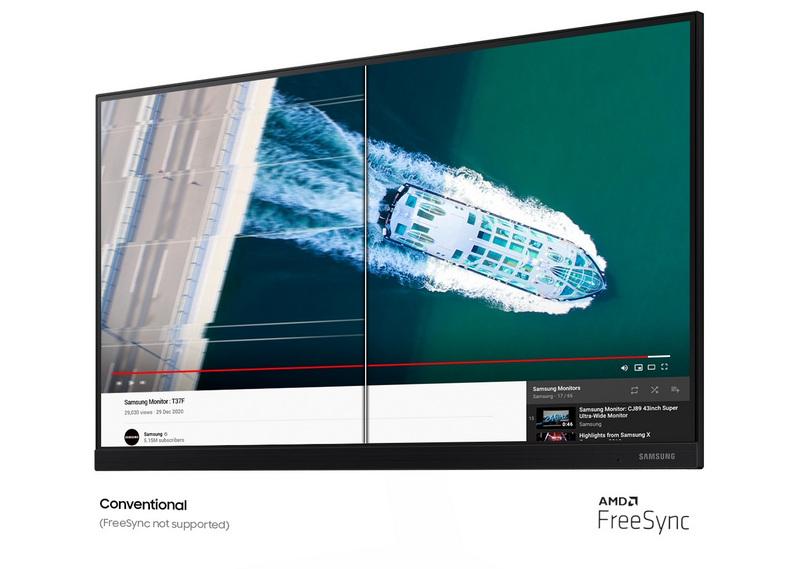Màn hình Samsung LF22T370FWEXXV 21.5Inch 75Hz IPS