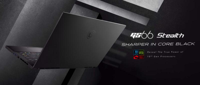 Laptop MSI Gaming GS66 Stealth 10UE 200VN