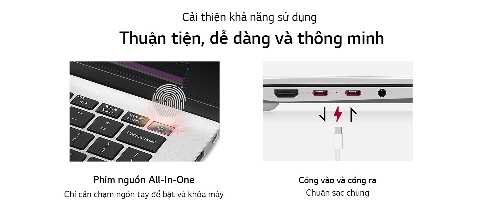 Laptop LG Gram 14ZD90P-G.AX56A5