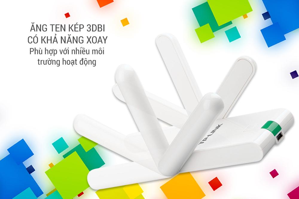 Cạc mạng không dây TP-Link TL-WN822N 300Mbps