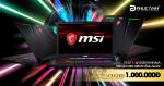 Nhận ngay voucher 1 triệu đồng khi mua laptop gaming MSI GE73