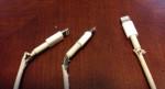 Lý do nào khiến cáp sạc của Apple kém bền đến thế?
