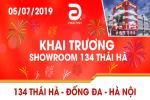 THÔNG BÁO KHAI TRƯƠNG SHOWROOM - PHÚC ANH 134 THÁI HÀ