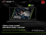 SẮM LAPTOP GAMING ROG NHẬN NGAY CODE GAME CALL OF DUTY