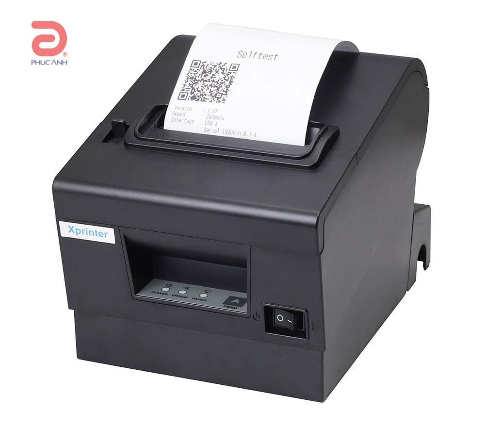 Máy in hóa đơn siêu thị XPrinter Q200 – Độ bền cao, giá rẻ trong tầm tay