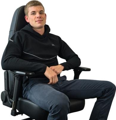 """Chơi game ngồi thật """"sướng"""" với ghế game Noblechairs Icon Series"""
