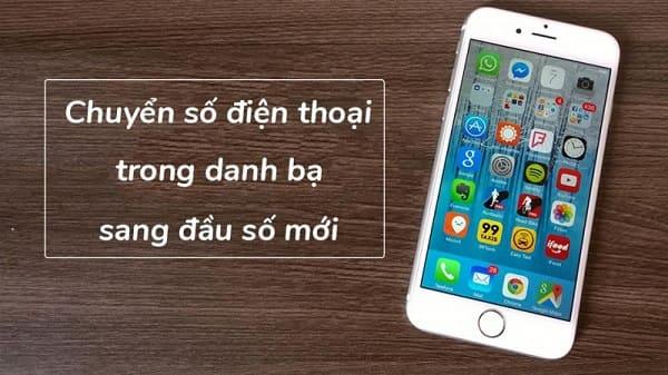 Cập nhật nhanh các đầu số di động mới tại Việt Nam cho danh bạ Iphone
