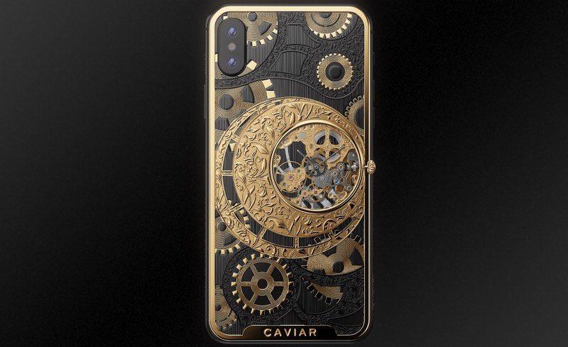 Chiếc điện thoại độc nhất vô nhị với mặt lưng đồng hồ cơ