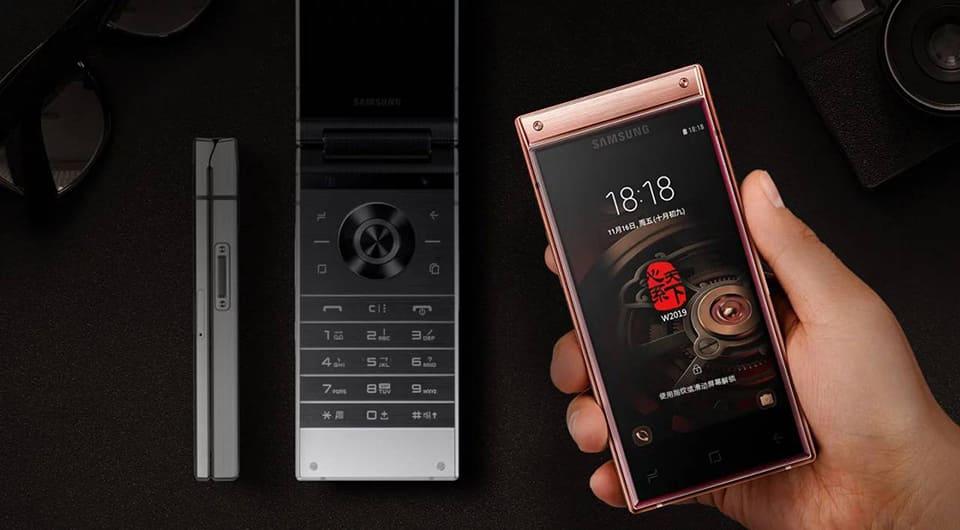 Samsung W2019 chiếc điện thoại nắp gập với 2 màn hình, camera kép chính thức ra mắt
