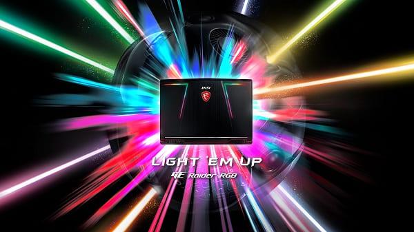 MSI GE73 8RF RGB RAIDER - SINH RA ĐỂ GIÀNH THẮNG LỢI