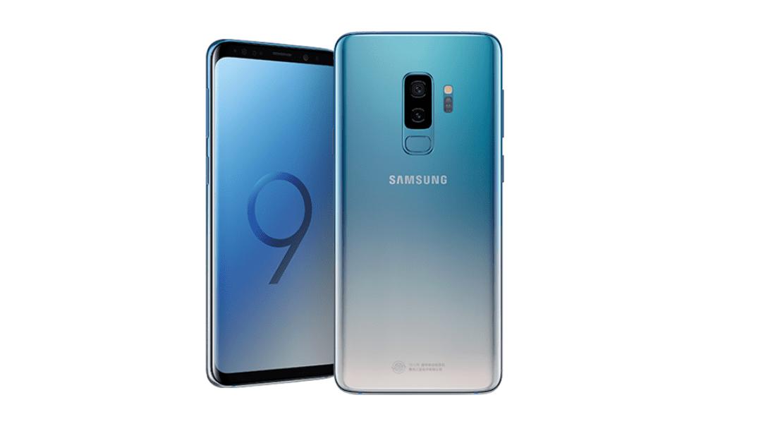 Đẹp khó cưỡng với phiên bản màu mới xanh Ice Blue gradient trên Galaxy S9 và S9+