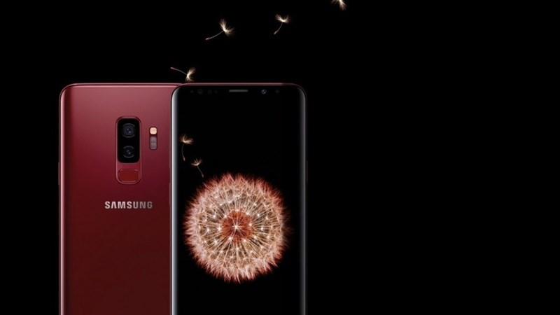 Galaxy S9+ phiên bản màu Vang Đỏ ra mắt tại thị trường Việt Nam