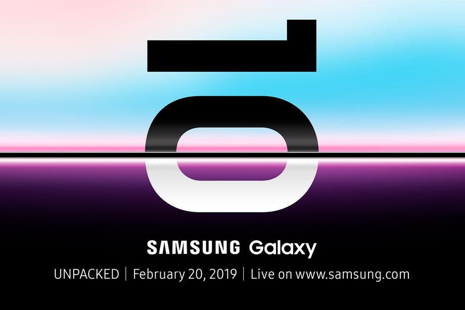 Thư mời ra mắt siêu phẩm Galaxy S10 của Samsung