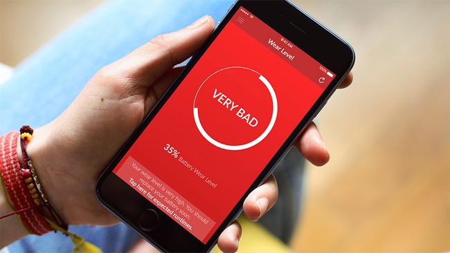 Ứng dụng kiểm tra độ chai pin iPhone của bạn