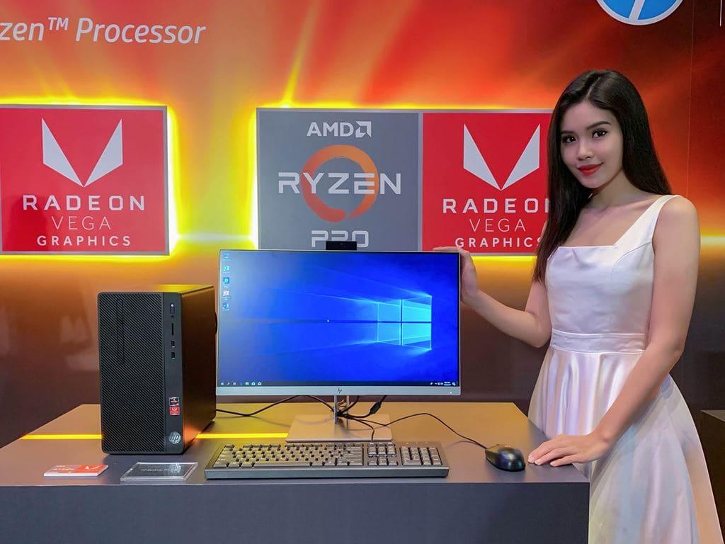 Loạt máy tính cá nhân trang bị chip AMD Ryzen giá từ 8,39 triệu đồng được HP giới thiệu trong ngày 22/1/2019