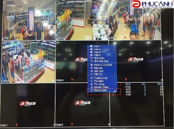 Hướng dẫn default & đổi mật khẩu tài khoản trên đầu ghi hình Dahua