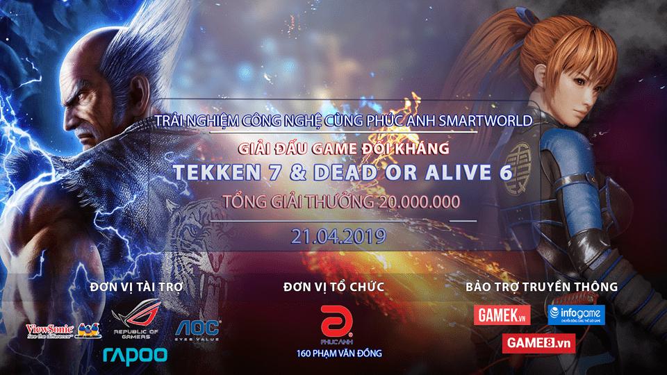 FIGHTING GAME TOURNAMENT 2019 - Giải đấu hấp dẫn cho game thủ Hà thành