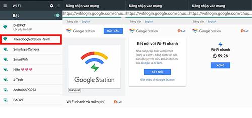 Google lắp đặt mạng Wifi miễn phí tại Việt Nam