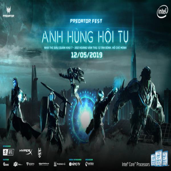 Acer Predator Fest 2019 ngày hội