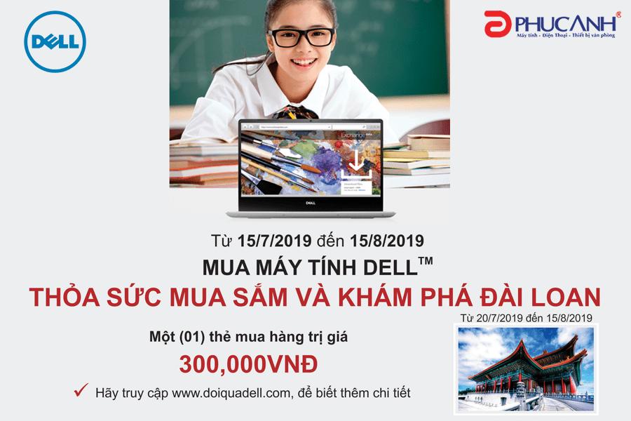 Cùng Dell Khám Phá Đài Loan Và Thỏa Sức Mua Sắm