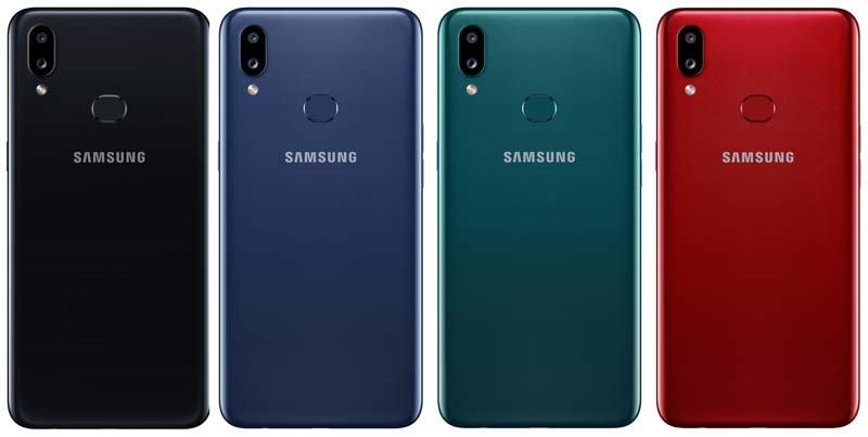 Galaxy A10s: Chiếc điện thoại rẻ nhất của Samsung sử dụng bảo mật vân tay
